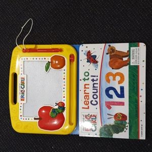 ERIC CARLE KIDS DOODLE PAD AND LEARN TO COUNT BOOK (AGES 3 AND UP)